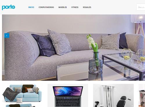 Sitio Web para Tienda Online